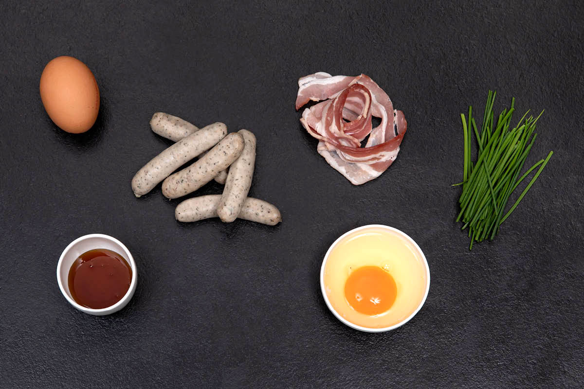 Ingredients - EGG AND SAUSAGE DREAM