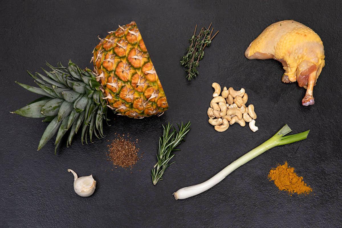 Ingredients - INDIEN CHICKEN CURRY