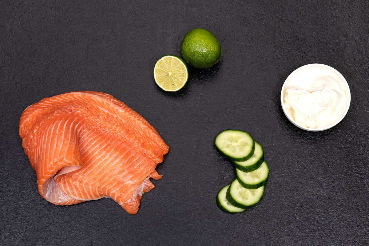 Ingredients - PHILLY SALMON