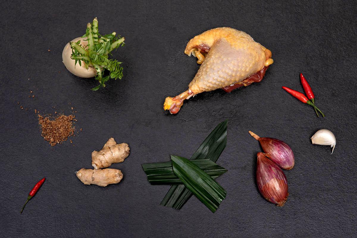 Ingredients - SINGAPORE CHICKEN