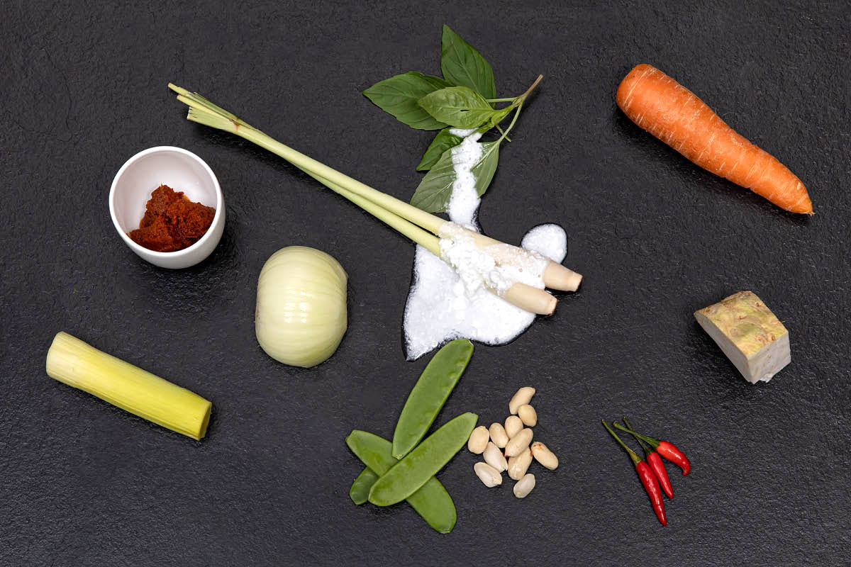 Ingredients - THAI VEGGIE CURRY